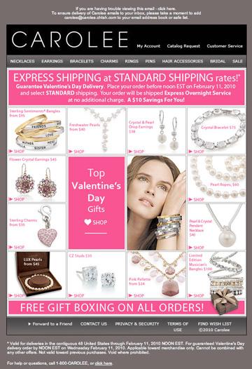 Carolee: Valentine's Day